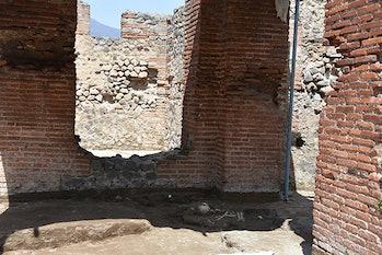pompeii child skeleton