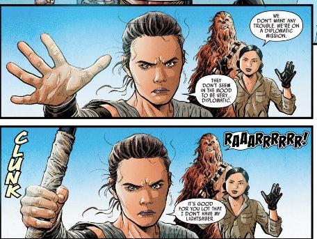 Aggressive negotiations- Rey edition