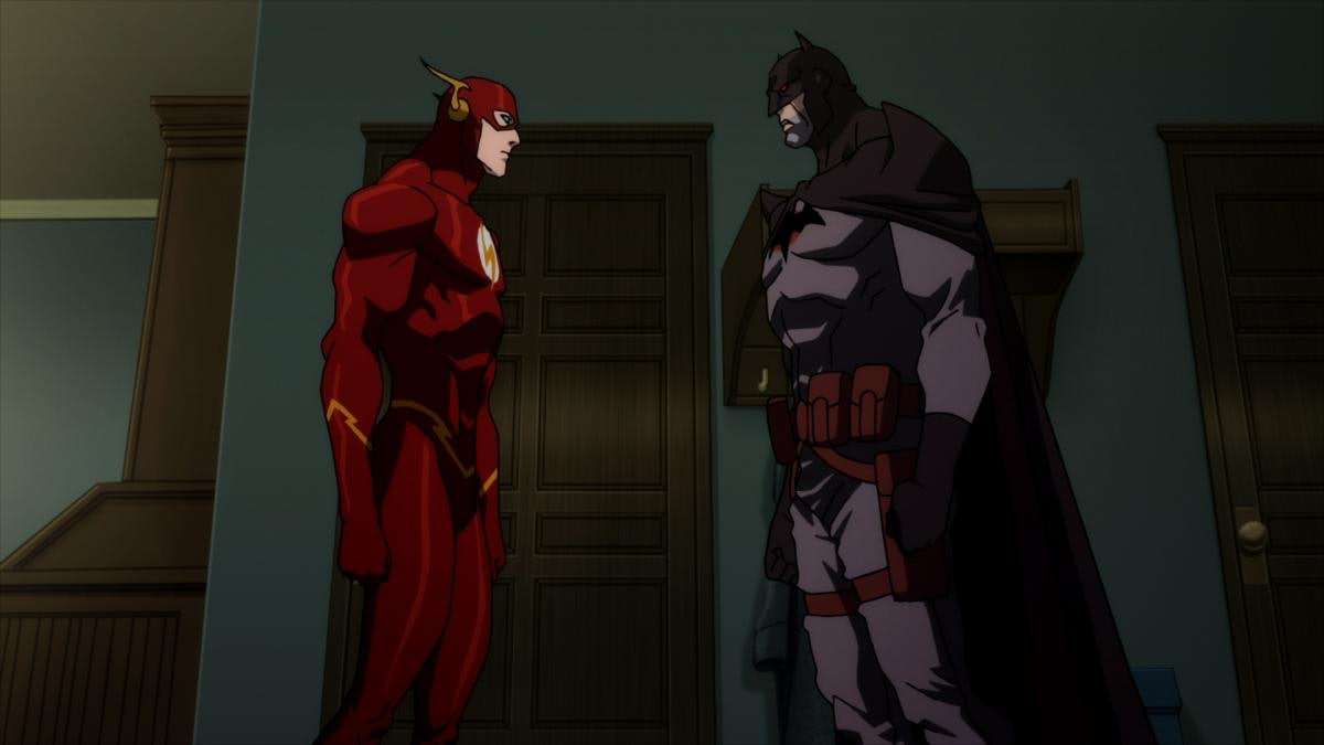 Barry's closest friend in Flashpoint is Thomas Wayne's Batman.