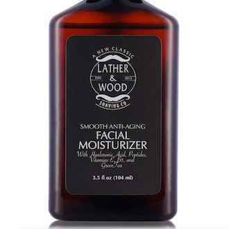 Lather & Wood's Luxurious Sophisticated Mens Moisturizer