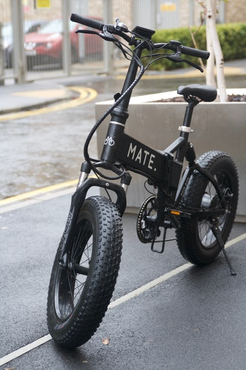 The Mate X from the front.