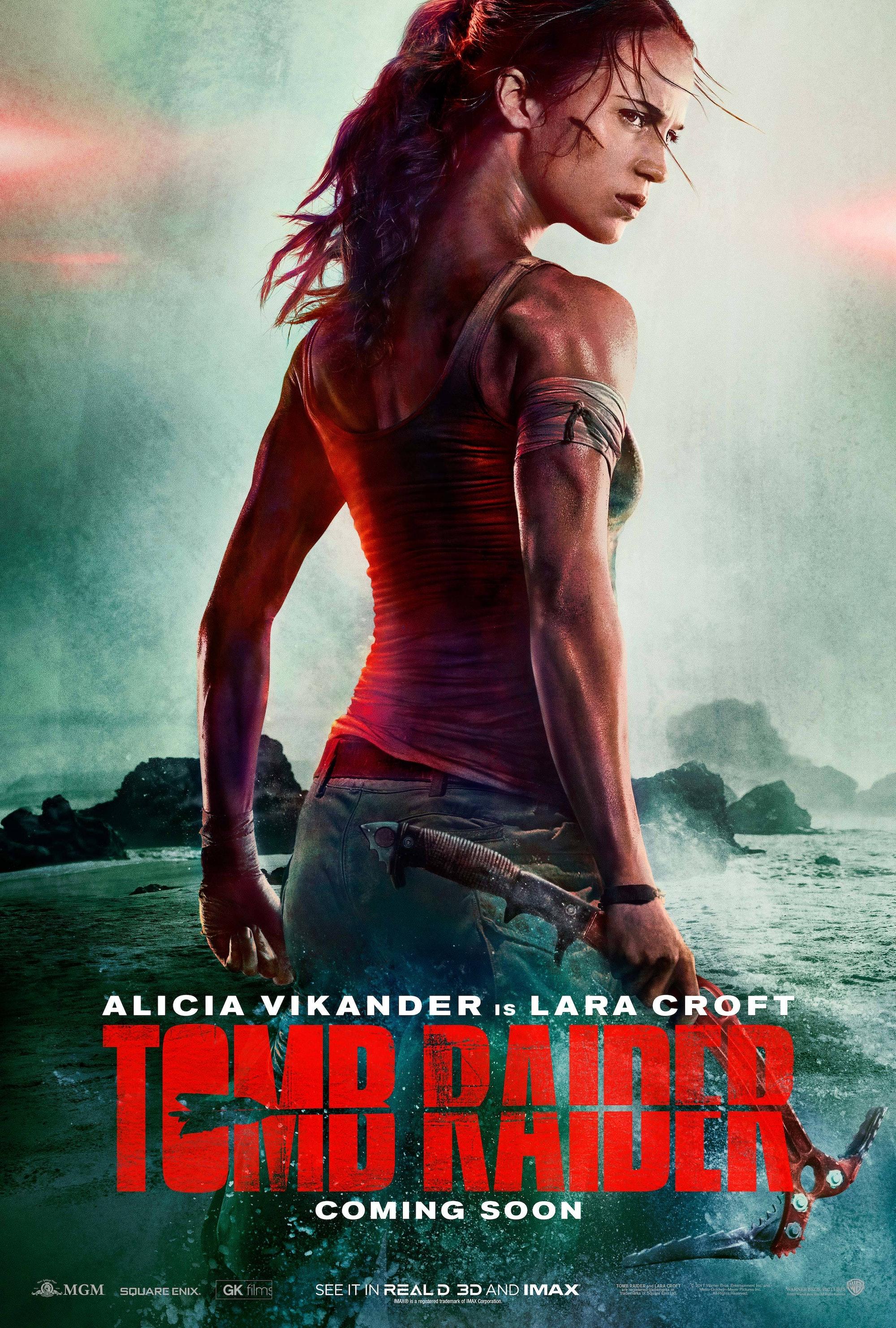 Tomb Raider Poster alicia vikander