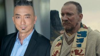 Paul Nakauchi plays Watari in Netflix's 'Death Note' (2017), and David Thewlis plays King Duncan in ...