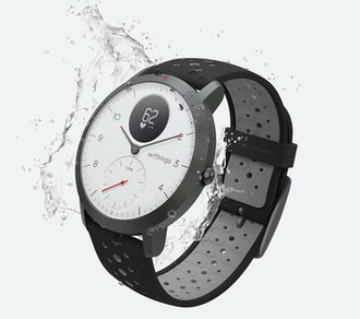 WithingsSteel HR Sport + Leather Strap