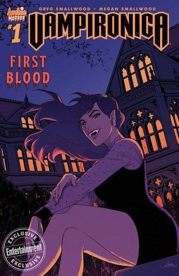 Cover of 'Vampironica' issue.