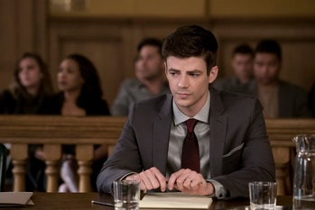 Barry worries about the courtroom drama.
