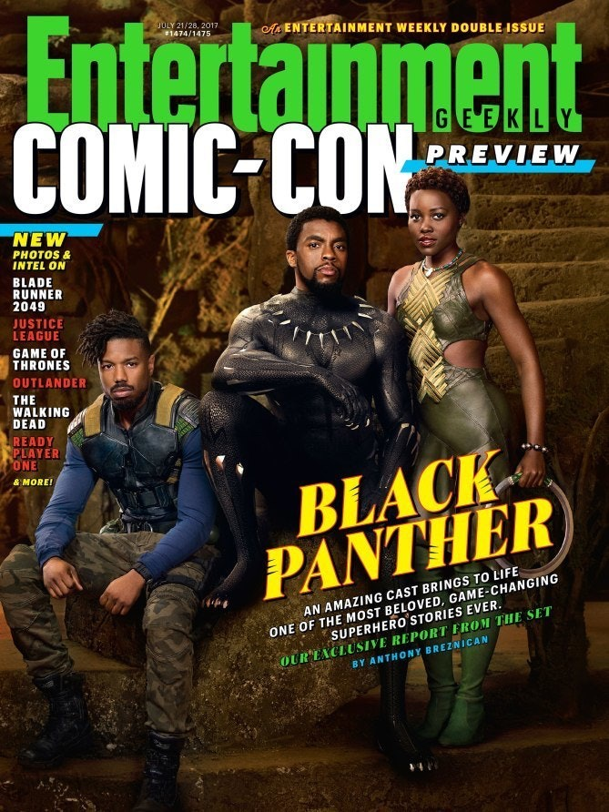 Black Panther Marvel Entertainment Weekly EW