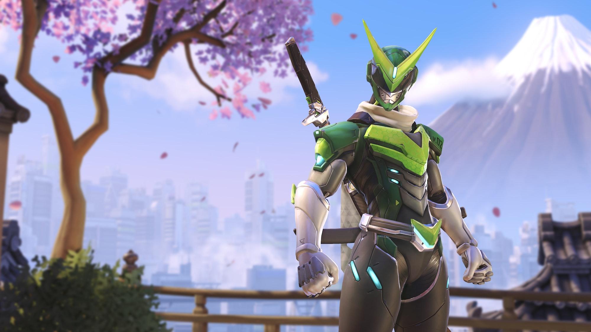 Overwatch Sentai Genji