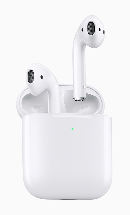 airpods update apple wireless charging case