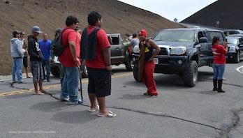 TMT blockade on Mauna Kea