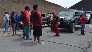 TMT blockade on Mauna Kea