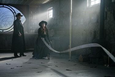 "Jacquesand Olivia in ""The Vile Village"""