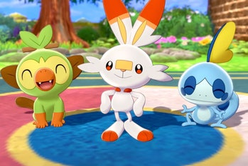 pokemon sword and shield starter evolutions leaks