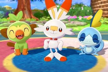 pokemon sword and shield starter evolutions leaks