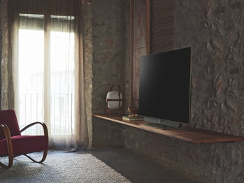 It's hard to avoid the TV in a room.
