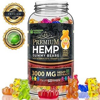 Hawaiian Health Premium Hemp Gummy Bears