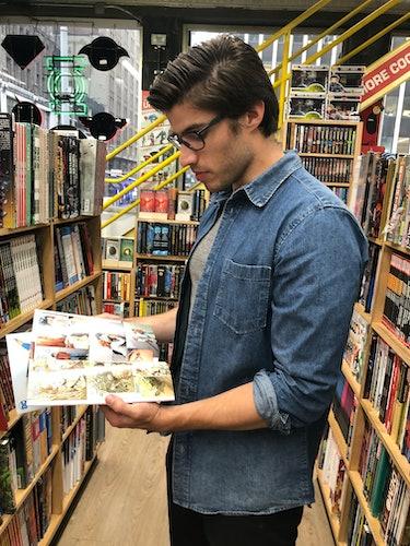 Cameron Cuffe Midtown Comics Krypton