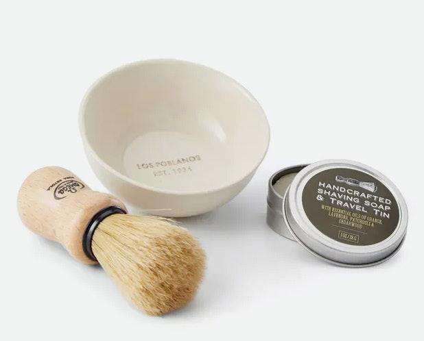Los PoblanosArtisan Shave Kit