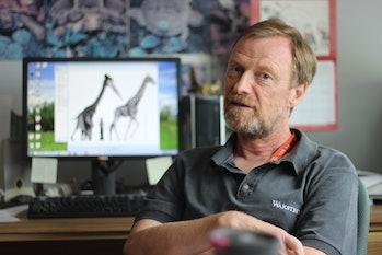 Don Henderson curator dinosaurs nodosaur royal tyrrell