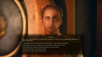 outer worlds conversation