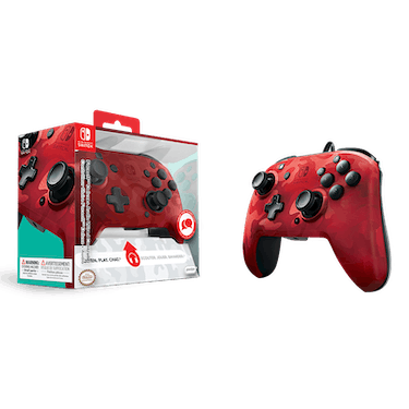 PDPFaceoff Deluxe+ Audio Wired Controller