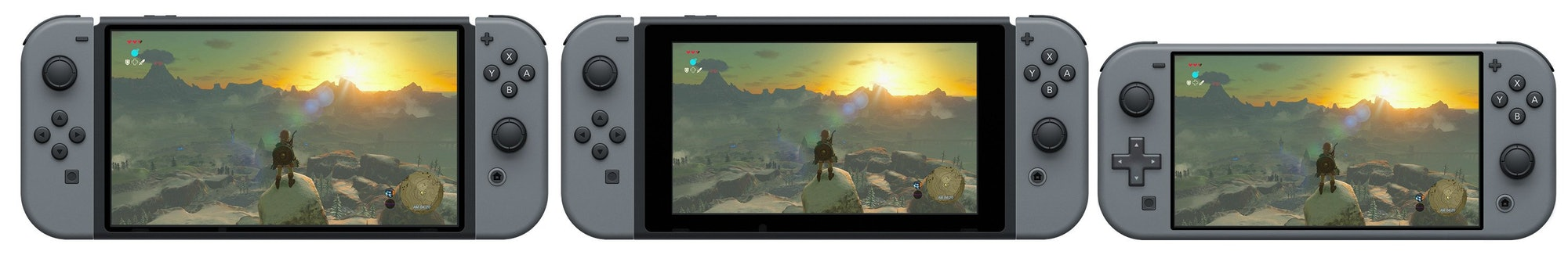 nintendo switch mock ups