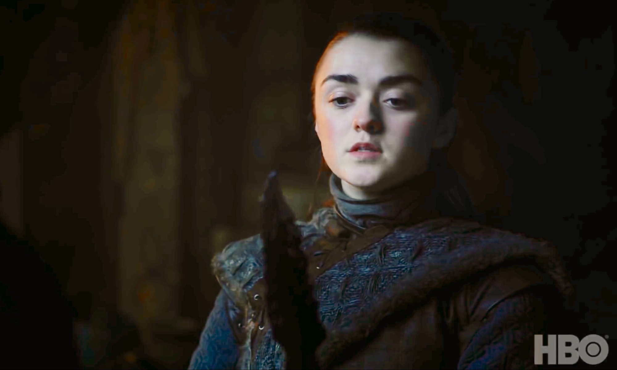 game of thrones season 8 trailer arya stark maisie williams