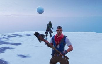 Fortnite Snowball