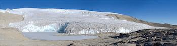 Quelccaya ice cap in Peru.
