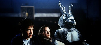 In which a strange young time traveler is plagued by an apocalyptic and cryptic rabbit person.