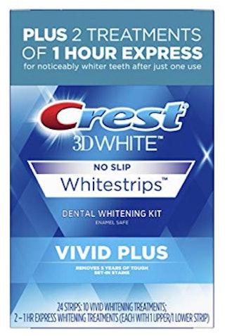 Crest 3D Whitestrips Vivid Plus