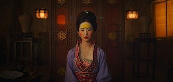 Liu Yifei as Mulan in Disney's live-action 'Mulan'