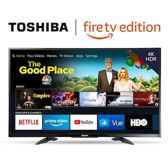 TOSHIBA 50-inch 4K Ultra HD Smart LED TV