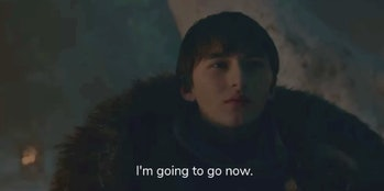 Bran I'm Going to Go Now Stark