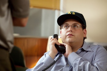 Jonah Hill in 'Moneyball'