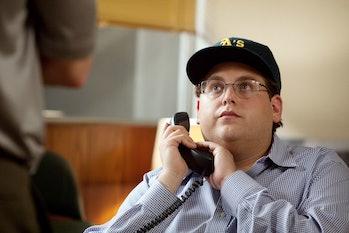 Jonah Hill in 'Moneyball'