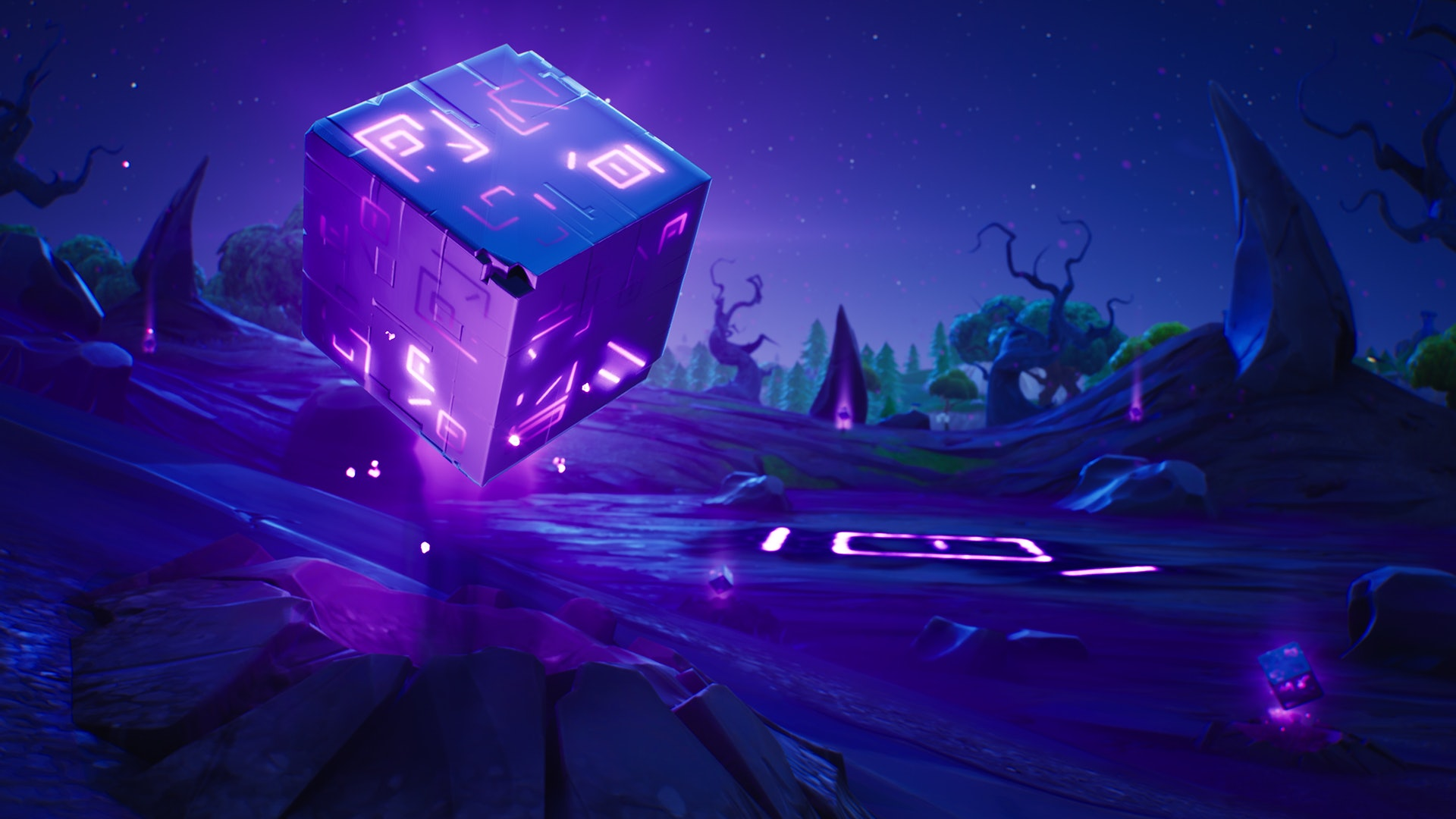 'Fortnite' Season 6 Corrupted Areas and Shadow Cubes