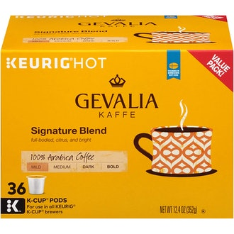 Gevalia Signature Roast Keurig K Cup Coffee Pods