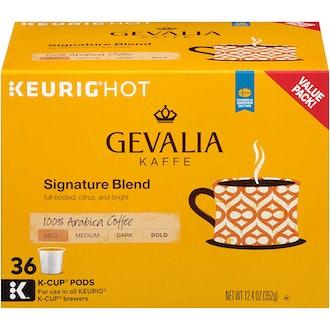 Gevalia Signature Roast Keurig K Cup Coffee Pods