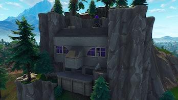 Fortnite supervillain lair