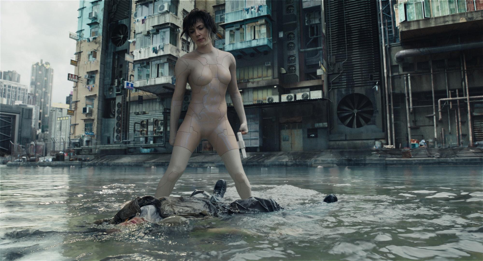 Ghost in the Shell Scarlett Johansson