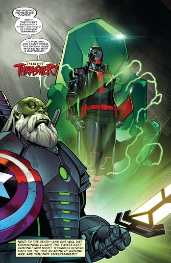 Night Thrasher Marvel