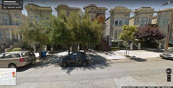 Full House house google street view san francisco maps