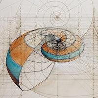 Rafael Araujo Draws Perfect Illustrations by Hand Using Math's Golden Ratio