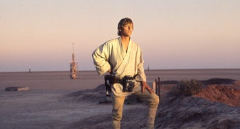 Luke Skywalker in 'Star Wars'
