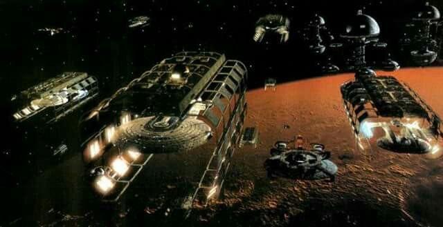 Utopia Planitia shipyyards