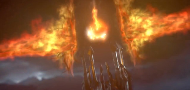 'Shadow of War' offers an explanation for why Sauron appears as a flaming eye, and it's a crazy one.