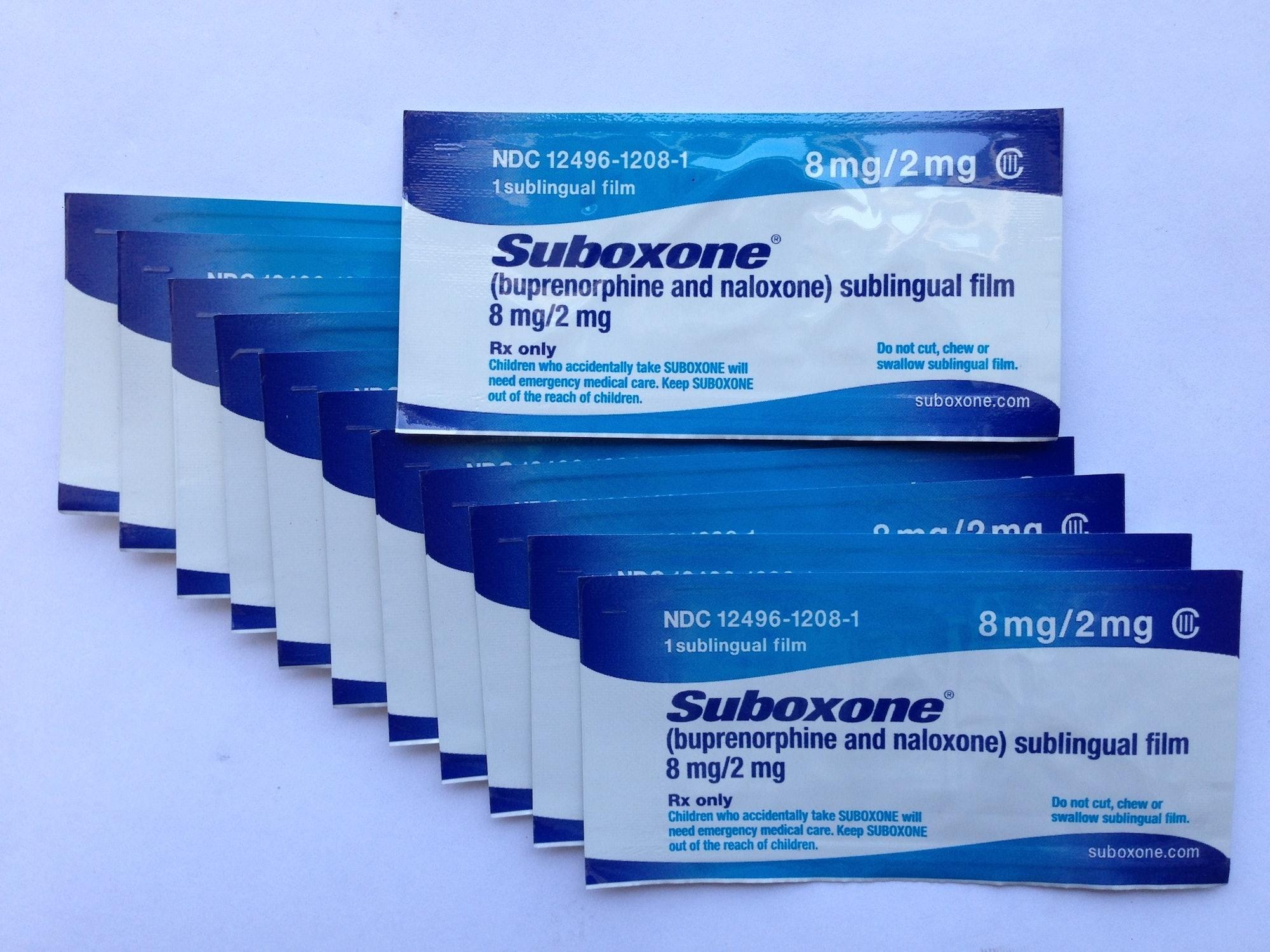 Suboxone SL Tabs