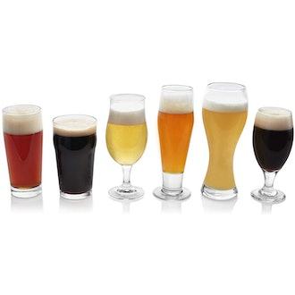 Libbey Craft Brews Assorted Beer Glasses (set of 6)