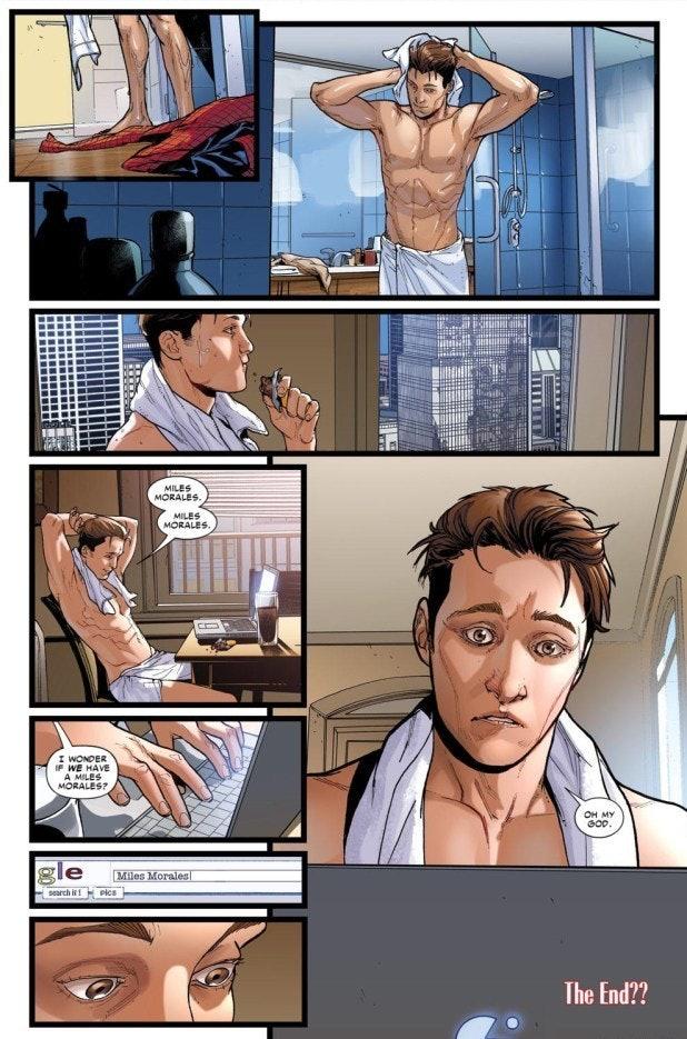 Spider-Man Miles Morales Earth 616